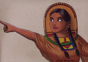 American Heroines - Sacagawea by Fires-storm
