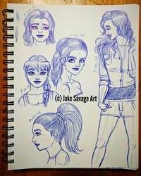 Daily Sketches 18 by Fires-storm
