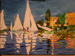 'The Regatta at Argenteuil'