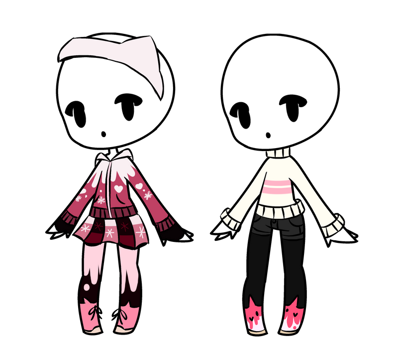Cute/Fall Outfit Adopts  Closed by LillianPPG on DeviantArt