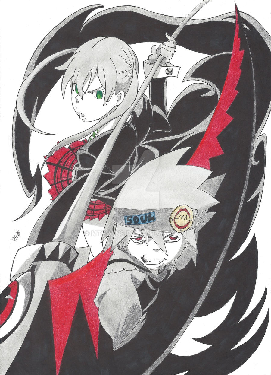 Maka and Soul by MTEvans