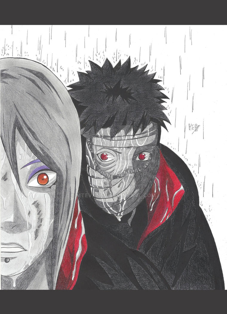 Konan vs Tobi by MTEvans on DeviantArt