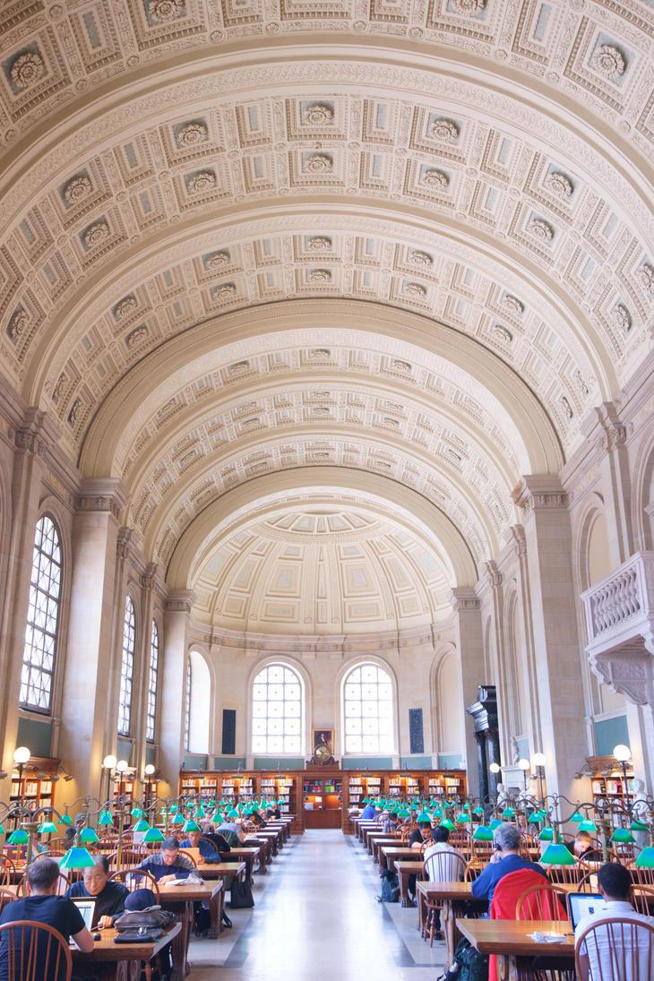 Boston Public Library (Bates Hall) by josephacheng