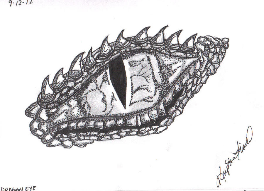 Dragon Eye Drawing