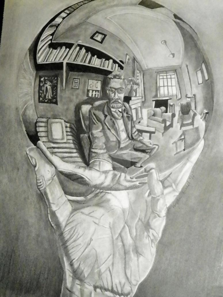 After MC Escher by KrystinaLeigh