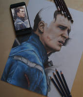 Captain America WIP by jointshadow