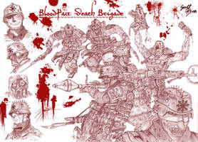 BloodPact Death Brigade by jeenhoong