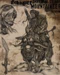 Ghurkhanite mountaineer