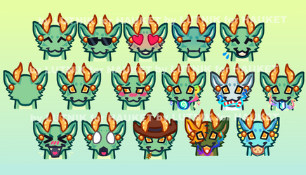 Kebanzu server Emotes by lutniik