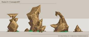 Rocks 01, Concept-Art