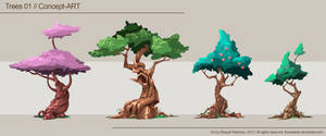 Trees 01, Concept-Art