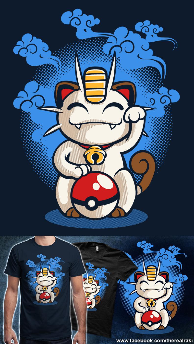 Lucky Meowth by TheRealRaki