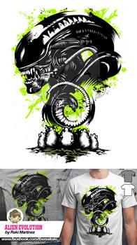Alien Evolution Tee