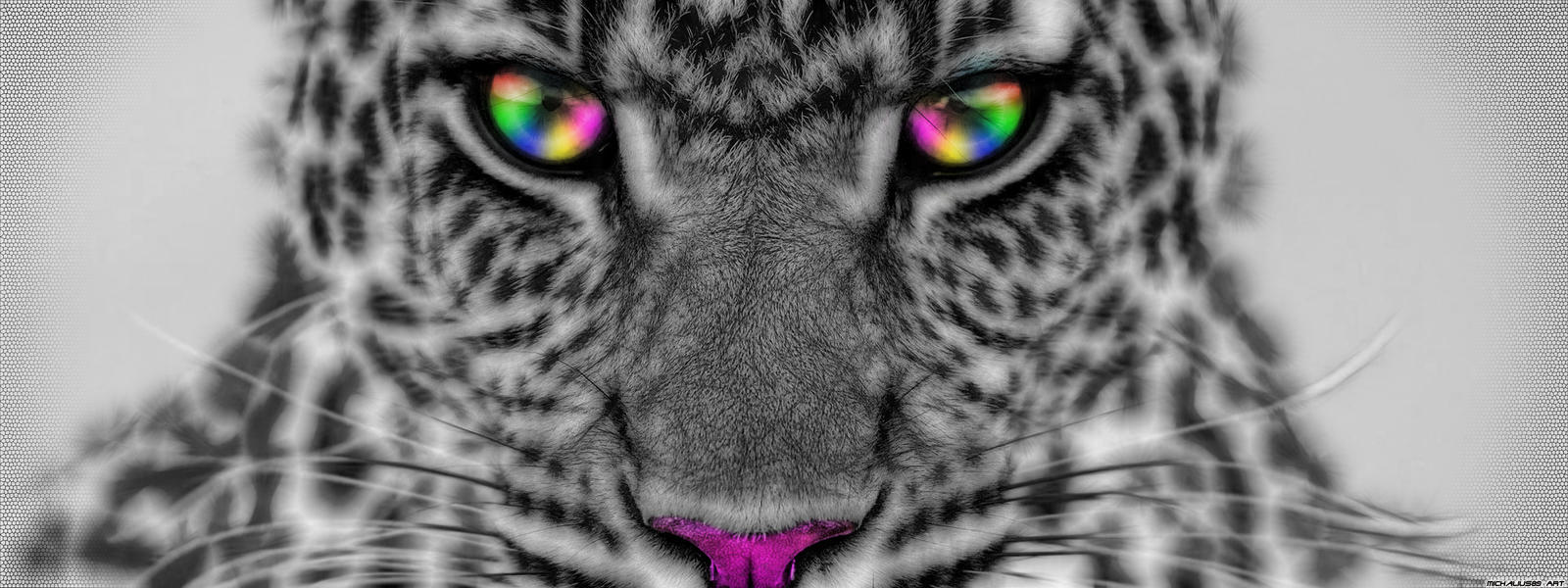 Colorful Cheetah by Michalius89 Colorful Cheetah by Michalius89