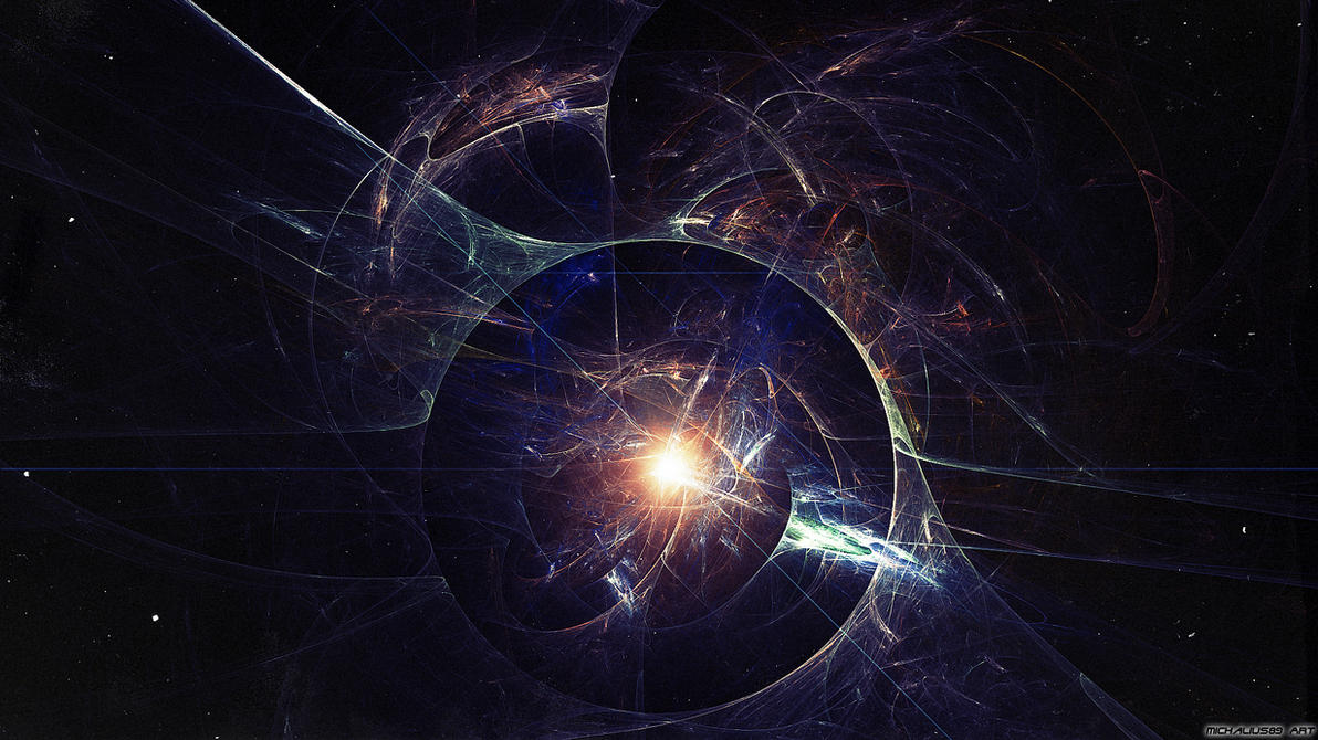 Space Abstract by Michalius89 on DeviantArt