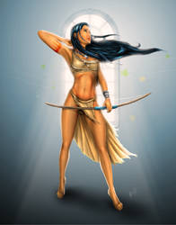 Pocahontas: Wind Legend by steevinlove