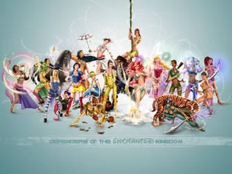 DOEK Princess Wallpaper 2 by steevinlove