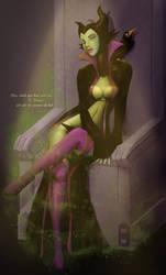 Maleficent: Hell Bringer by steevinlove