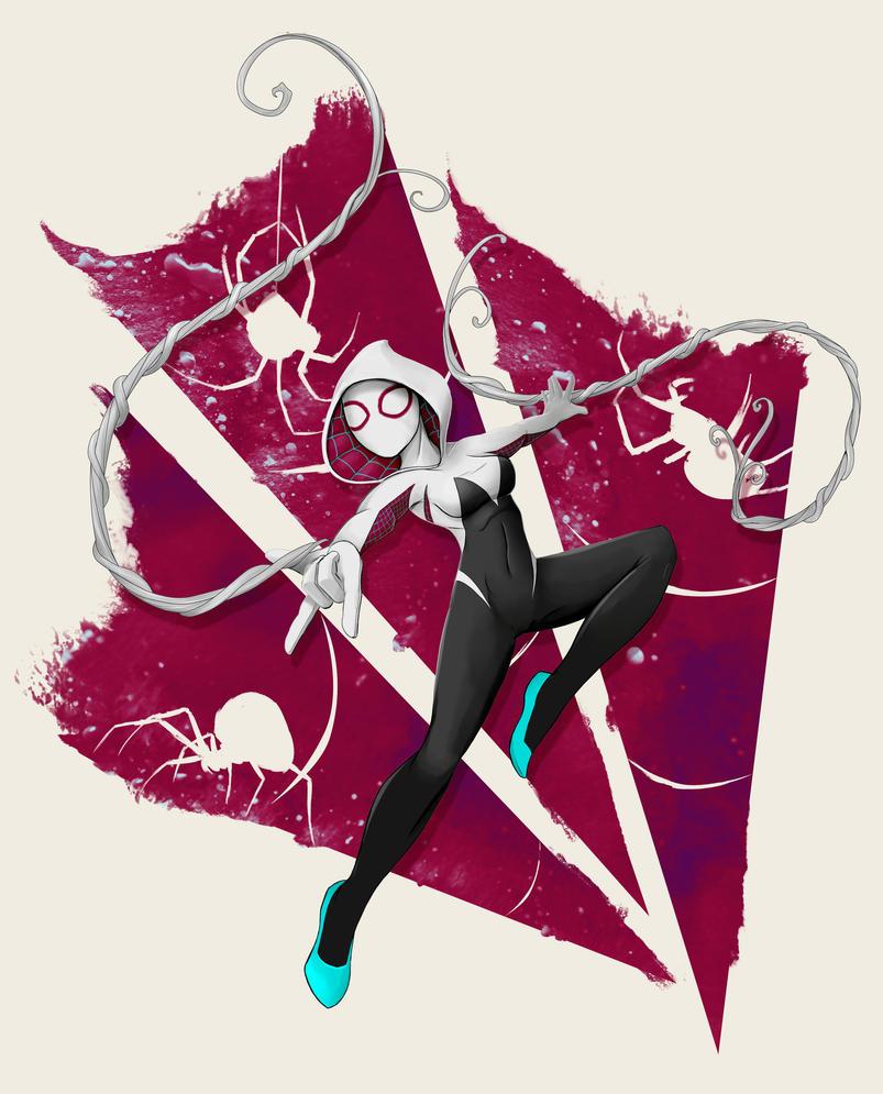 Spider-Gwen Web Slinger by steevinlove