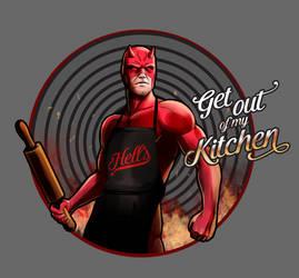 Daredevil Chef of Hell's Kitchen by steevinlove
