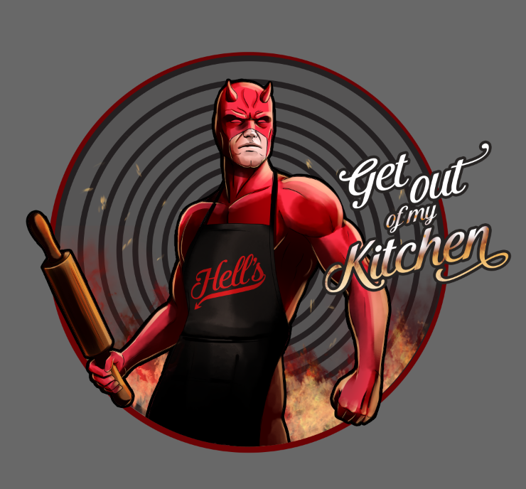 Daredevil Chef of Hell's Kitchen by steevinlove on DeviantArt