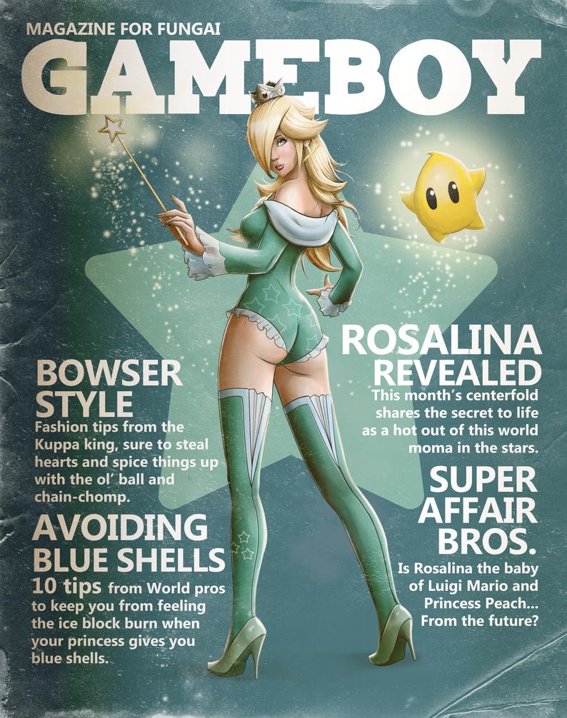 Gameboy Magazine: Rosalina Issue by steevinlove