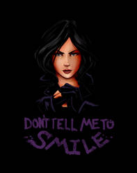Don't Tell Me To Smile by steevinlove