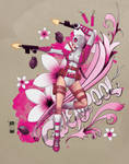 Gwenpool Floral