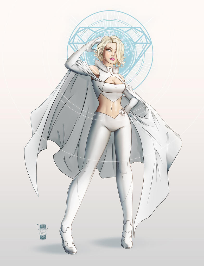 Emma Frost by steevinlove