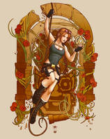 Lara: Raider Pour Le Scion by steevinlove