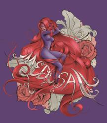 Floral Medusa