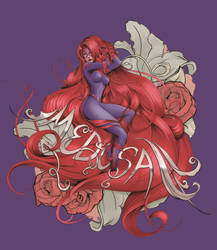 Floral Medusa by steevinlove