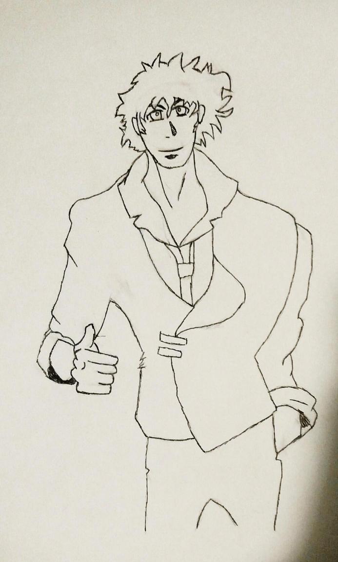 Spike (cowboy bebop) by ninjazrule15