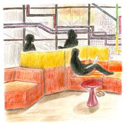 Commercial Color Pencil Study
