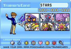 STARS Pokemon Training Card by STARSMember930