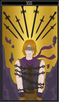 Sovereign Swords Tarot - Eight of Swords (Rowan) by Kaetana