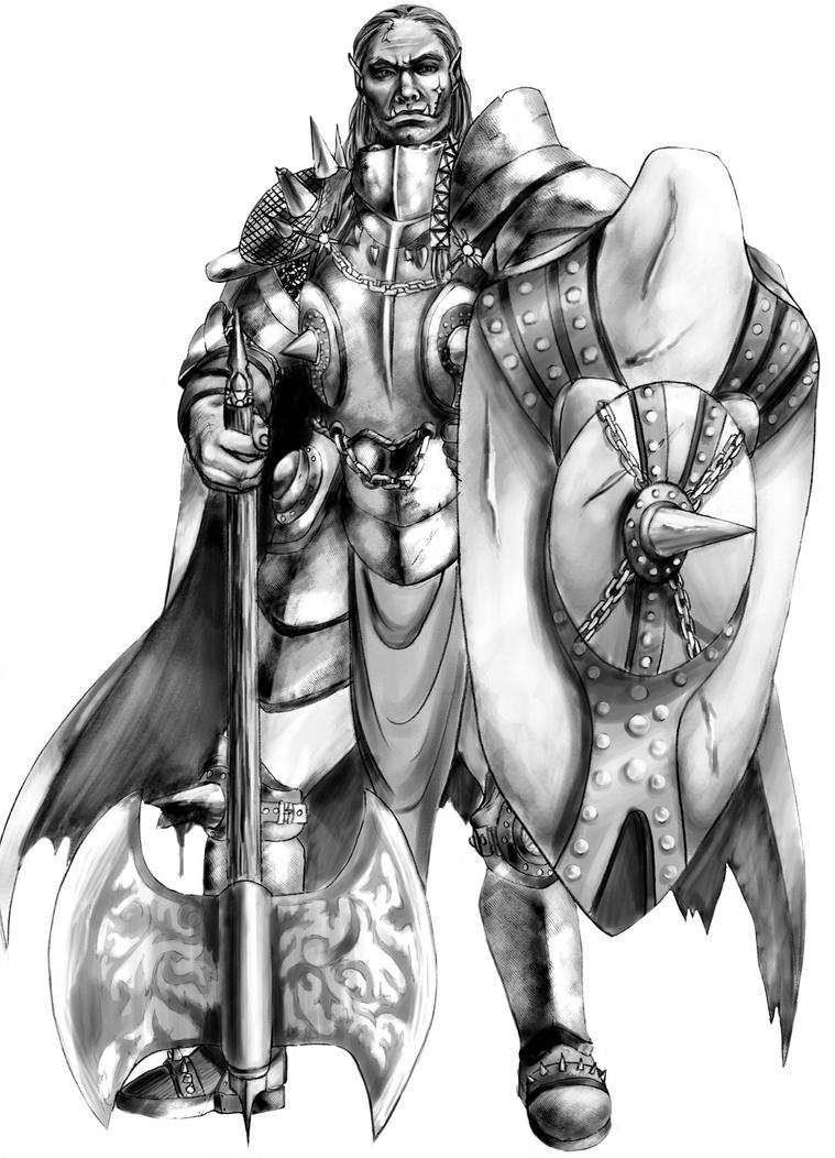 Orc Equinox by CrazyDwarf