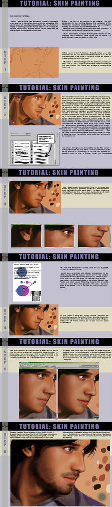 SKIN PAINTING TUTORIAL