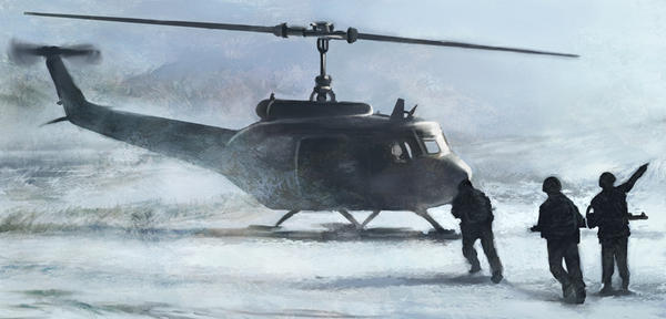 Concept Art_Marines by CrazyDwarf