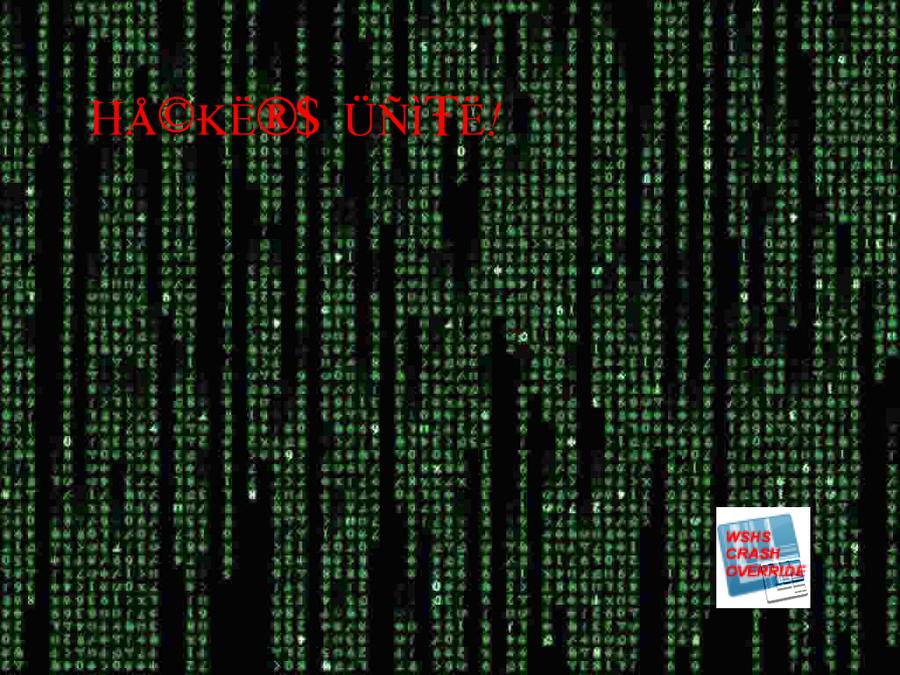 Matrix - Hackers Unite Green by WSHSCrashOverride on ...