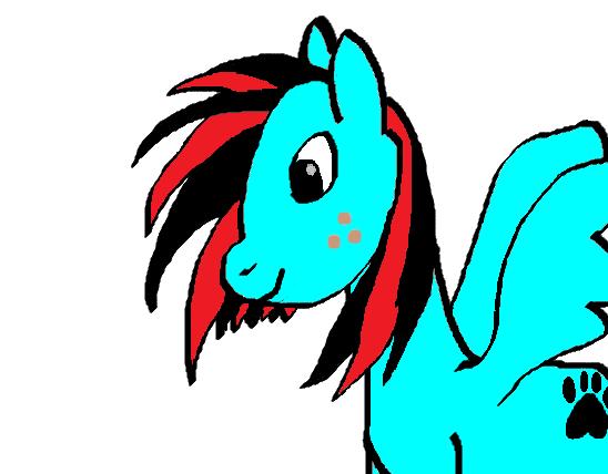 My Pony OC- Midnight Storm by MidnightStorm21