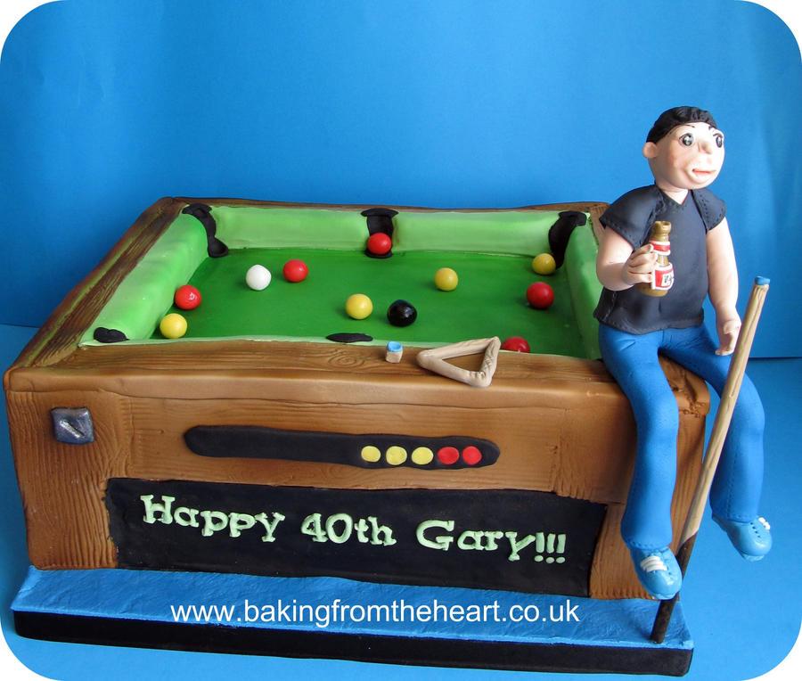 Pool Table Cake By 0970jackie ...
