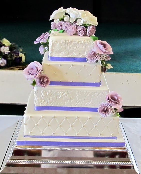 Laura S Edible Cake Art : Laura`s wedding cake! 1 by 0970jackie on deviantART