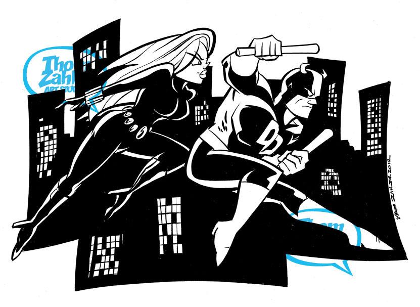 Daredevil & Black Widow | Demolidor