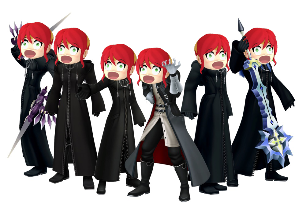 The Real Face Of Organization Xiii By Antogames On Deviantart