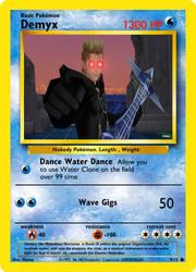 Demyx Pokemon card by Antogames