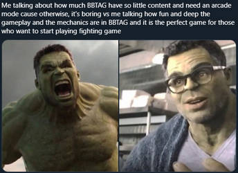 My thought on BBTAG by Antogames