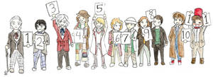 Doctor Who- Line up