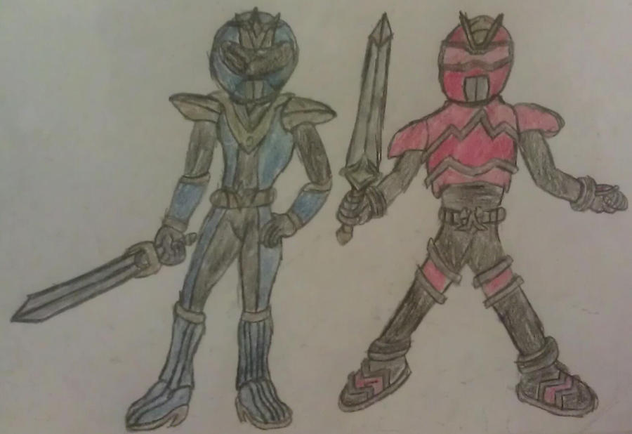 Gift - Kamen Rider Acorn and Kamen Rider Light by A5L
