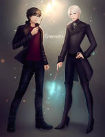 Harry and Draco by sirene312